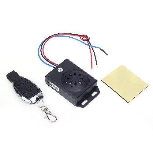 universal motorrad alarm system alarmanlage mit fernbedienung dc 12v schwarz - Universal Motorrad Alarm System Alarmanlage mit Fernbedienung DC 12V schwarz