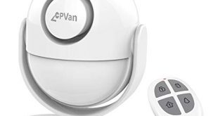 318o9xqh3qL 310x165 - CPVAN PIR Bewegungsmelder Alarm, Bewegungsmelder Bewegungssensor mit Fernbedienung - 125 dB - Alarmanlage Sicherheitstechnik Einbruchschutz für Haus, Garagen, Büro, Geschäfte, Wohnmobil. Modell:CP2